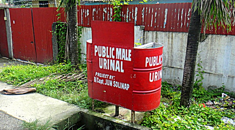 Public Male Urinal Iloilo Philippines - Retiring in the Philippines 2019