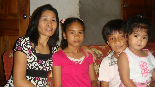 Marjorie, Shina, Sharwin and JalAmiel