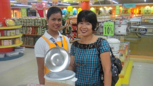 Shopping associate with my asawa at Gaisano City in Iloilo