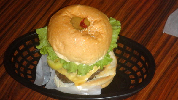 The best burger in Iloilo City, the Crave Burger