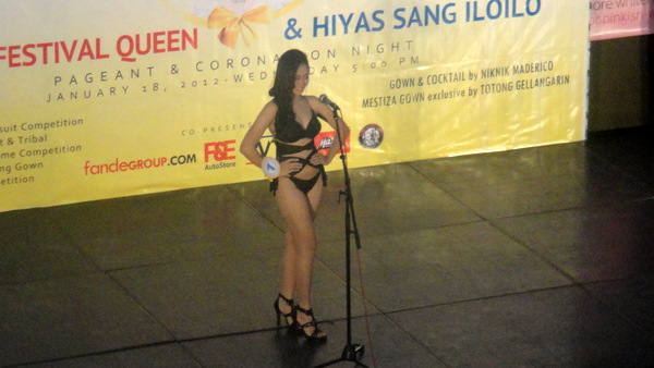 2012 Iloilo Festival Queen Swimsuit Competition