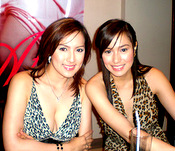 Filipina Bold Movie Star Ara Mina Reunites with Cristine Reyes
