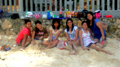 Gorgeous Girls in Guimaras at Raymen Beach Resort