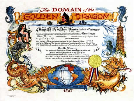 Domain of the Golden Dragon