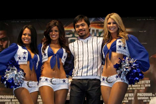 manny and the dallas cowboy cheerleaders