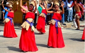guimaras dancers in the philippines