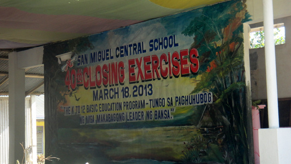 40th Closing Exercises San Miguel Central School