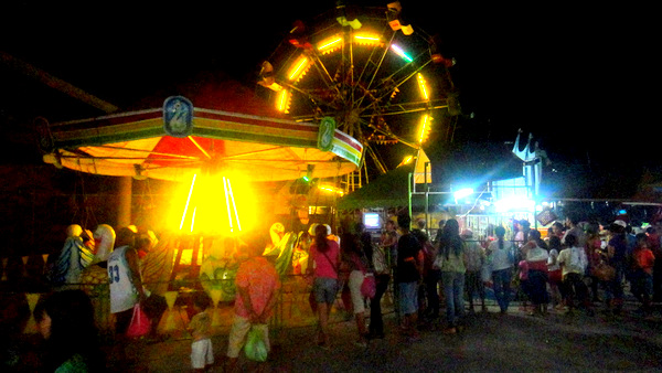Carnival midway in Guimaras