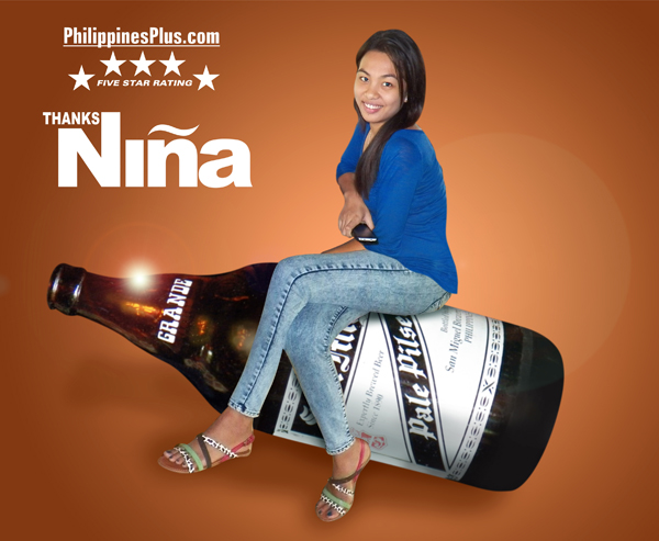 Nina Villarina Our Babes and Beer Winner