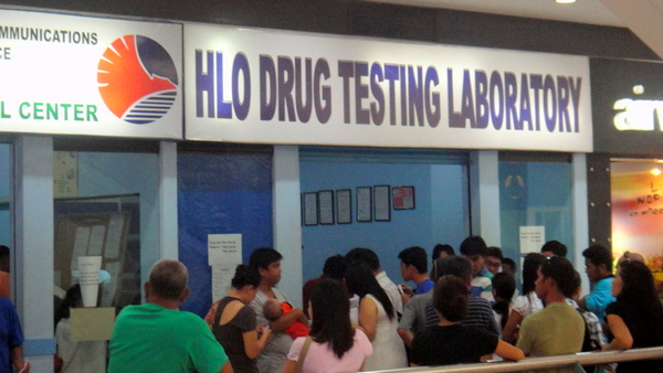 Drug Testing Facility at Robinsons in Iloilo