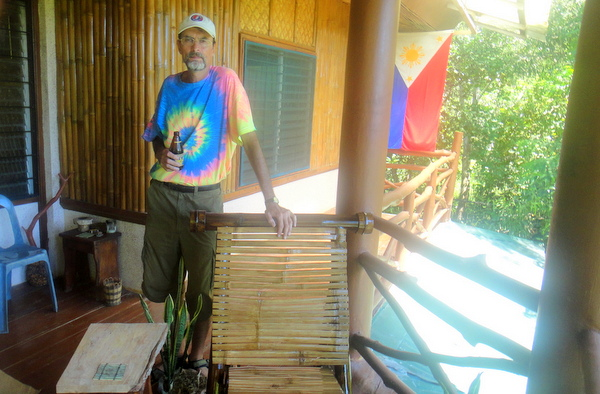 The Tom Cat down on the farm in Guimaras