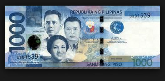 peso note philippines