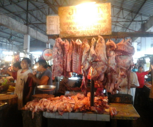 Great meat selection at the New Site in Guimaras