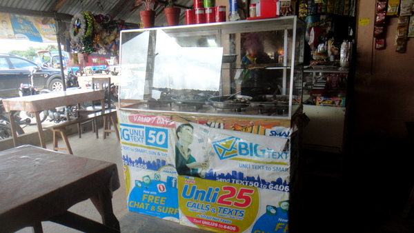 Coffee shop in Guimaras