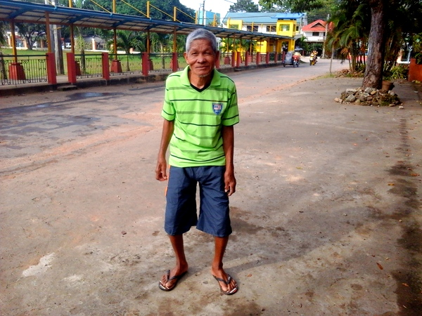 Lolo hanging out in Guimaras