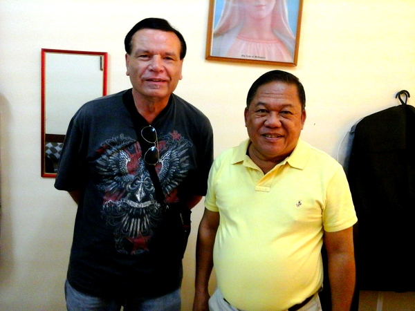 The Kano and the Vice Governor of Guimaras