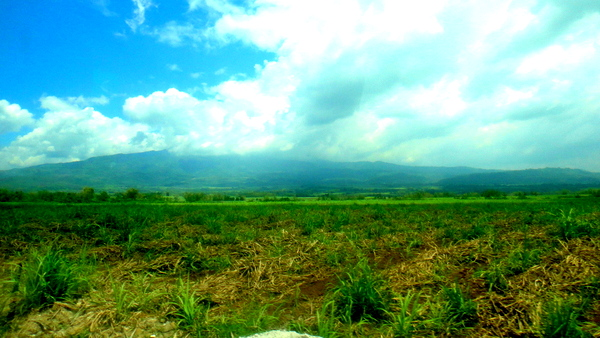 Amazing mountain views in Bacolod