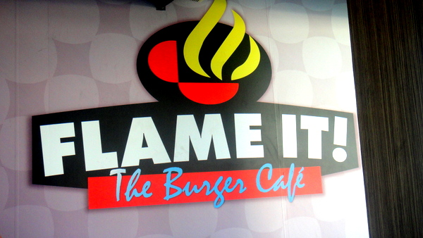 Flame It Burger in the Philippines