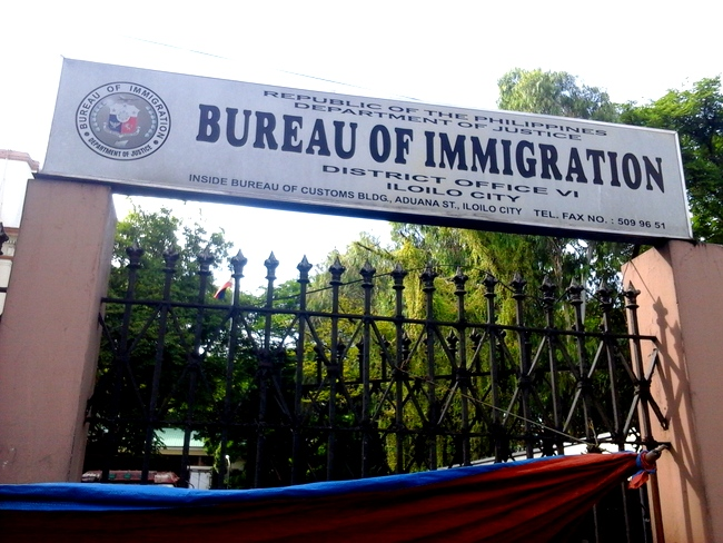 Bureau of Immigration in Iloilo