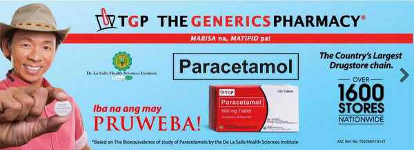 Medical Costs in the Philippines: A Visit to Generics Pharmacy