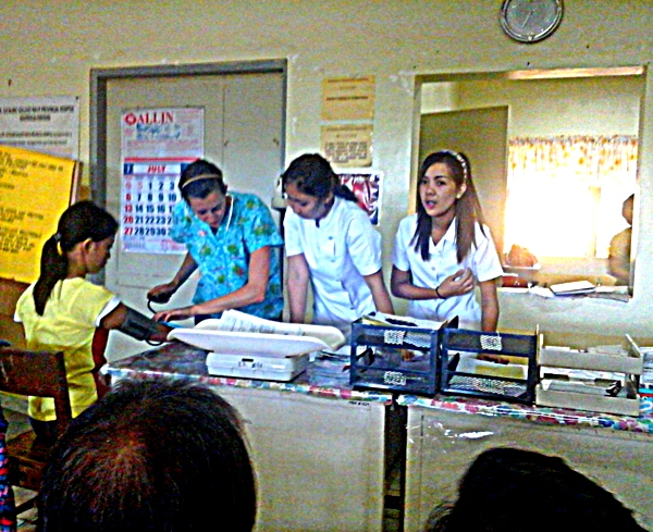 more pictures of the staff at guimaras provincial hospital