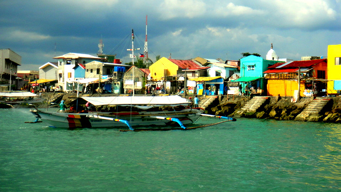 leaving Ortiz Dock in Iloilo City