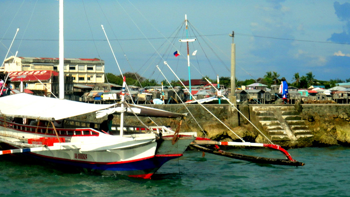 pump boats at Ortiz in Iloilo