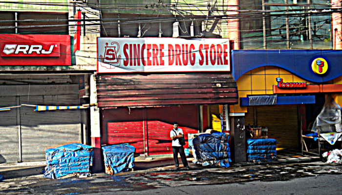 sincere drug store in bacolod city