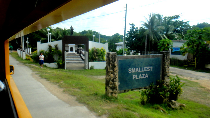 smallest plaza in Guimaras