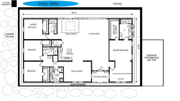 Nipa house floor plan joy studio design gallery best for House plan design philippines