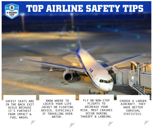 Top Aviation Safety Tips Infographic