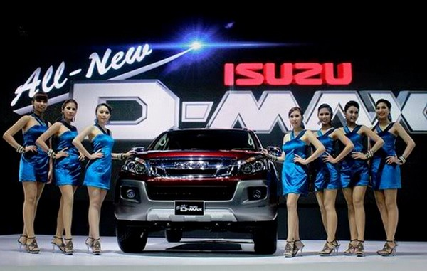 Isuzu D-Max 4×2 Automatic Truck Was Merely a Pigment of our Imagination