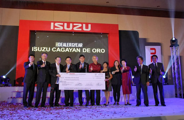Isuzu Dealer of the Year CDO