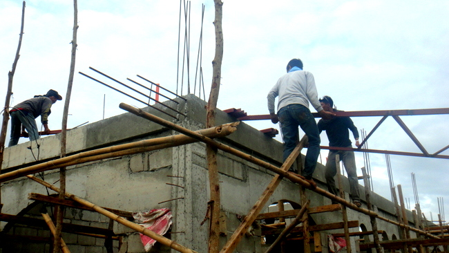 Construction costs philippines for Roof truss price list