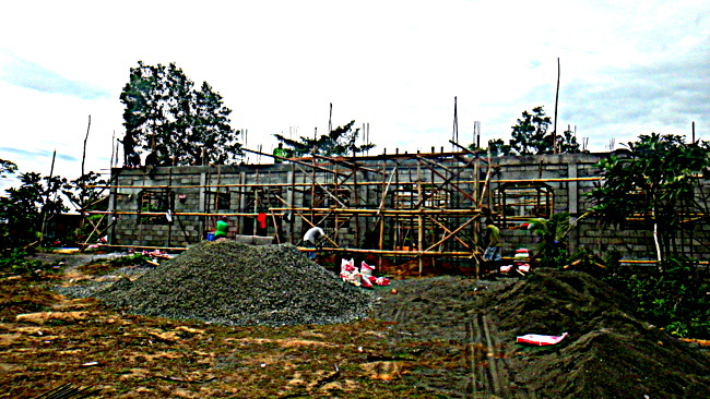 front view of our new home in the Philippines