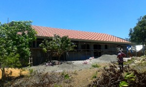 our new roof in the Philippines