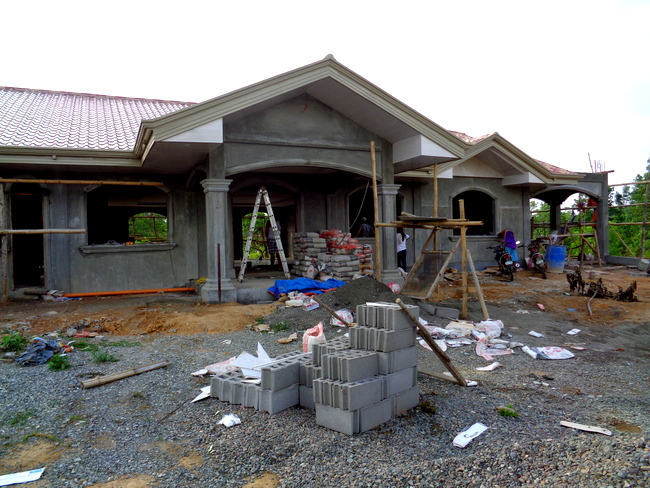 The Porch Philippines: Our New Home In The Philippines Is Nearing Completion