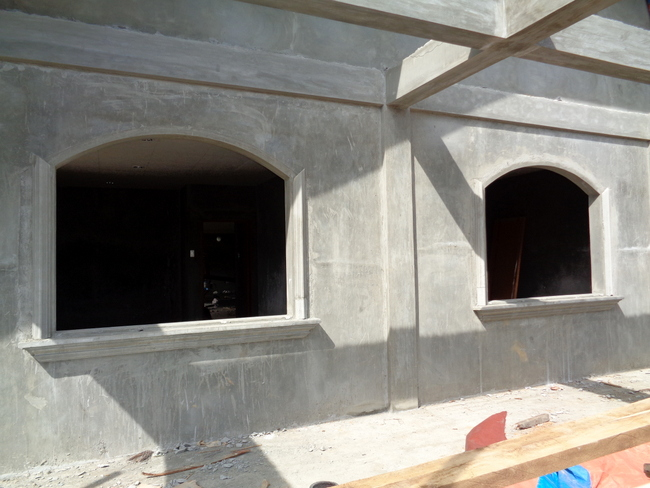 precast over windows