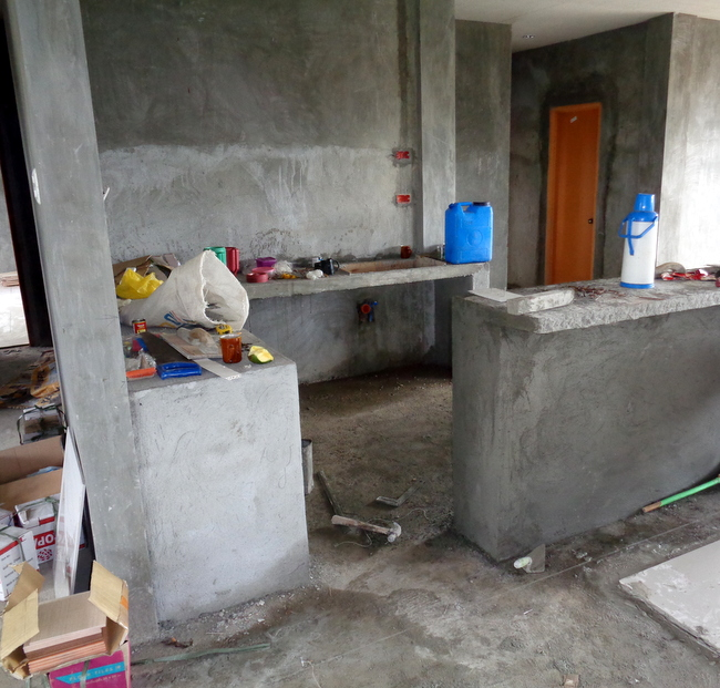Dirty Kitchen Design Pictures Philippines: Our New Home In The Philippines Is Nearing Completion