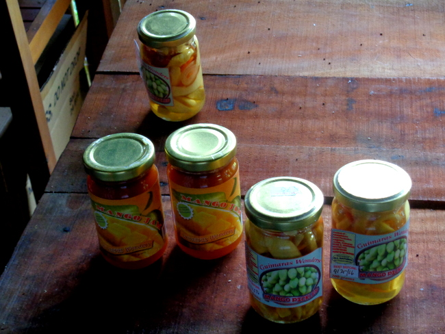 jams available at wonder farms, guimaras
