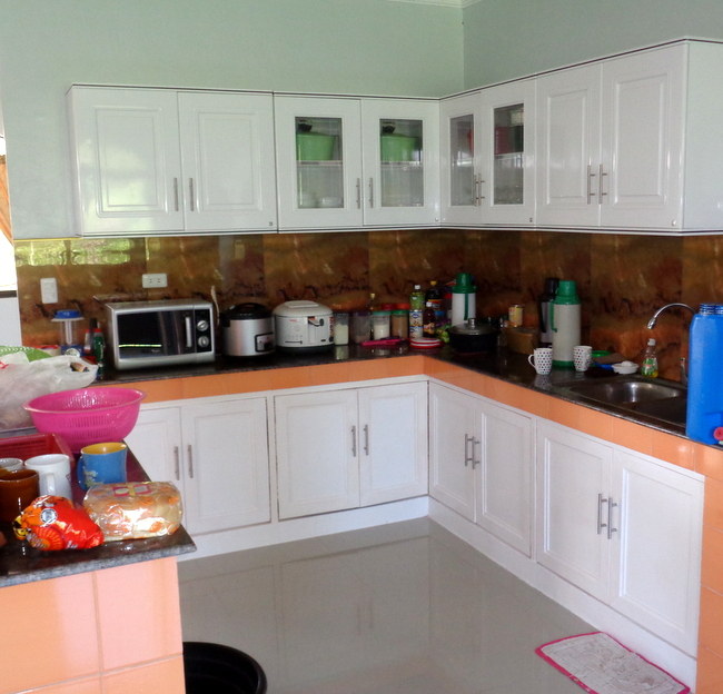 our new kitchen in the philippines