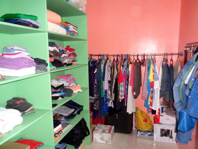 our walk in closet in the philippines