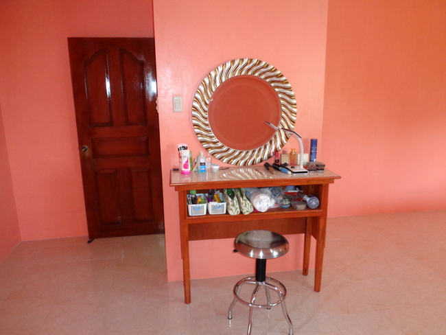vanity table made by our carpenter in the philippines