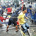 We Missed the Police/Protesters Clash in Iloilo