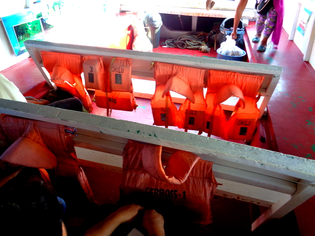 only a few life jackets available on guimaras iloilo pump boat