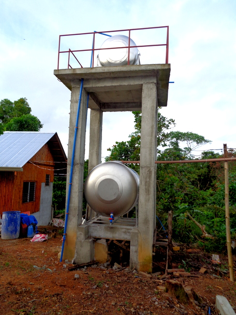 our two water tanks in the philippines