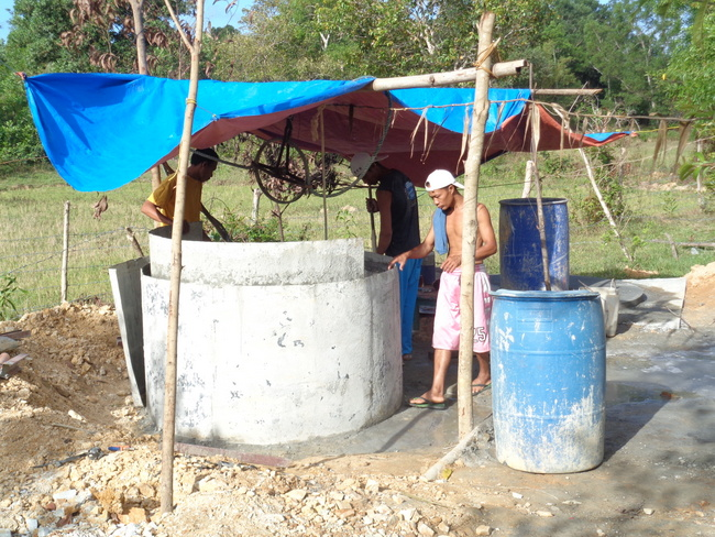 a look at our new well in the philippines