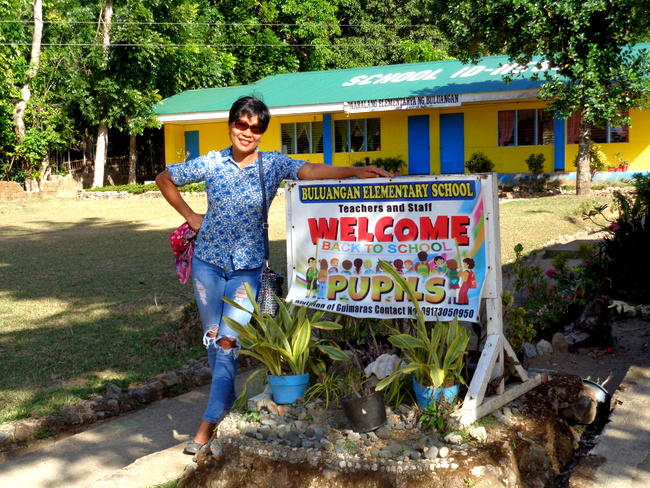 bringing back old school days in guimaras