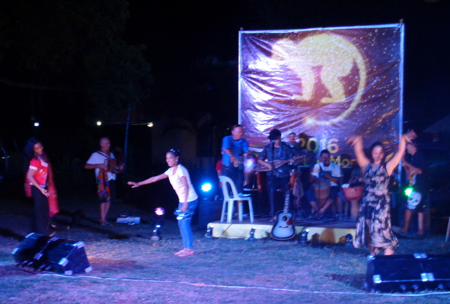 it is the year of the monkey at Mango Terrace celebration in Guimaras