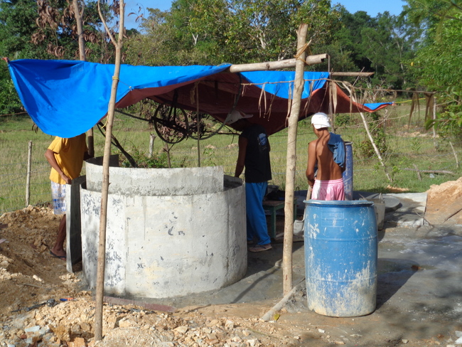 our new well in the philippines